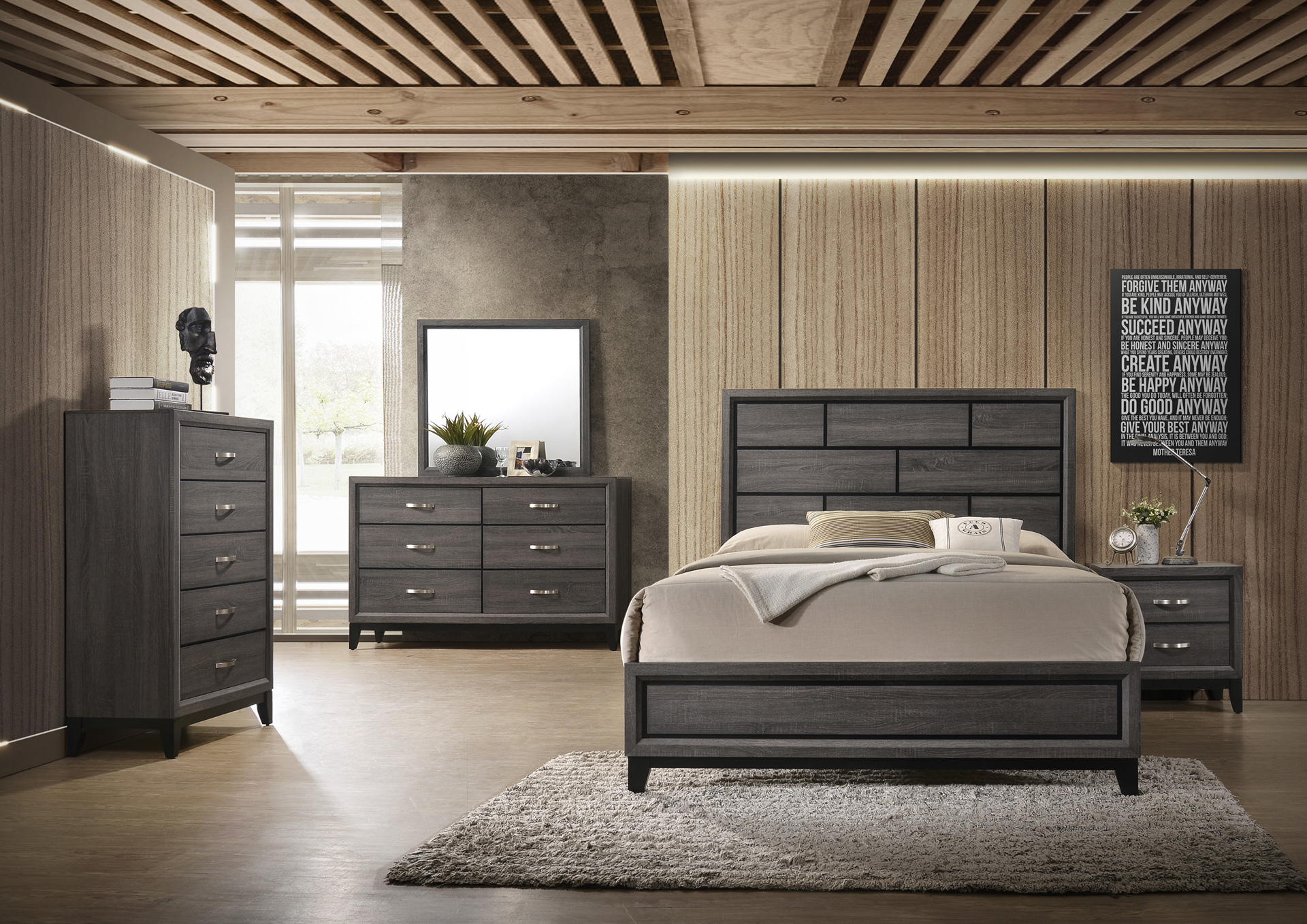 Atlantic Furniture Bedroom Set